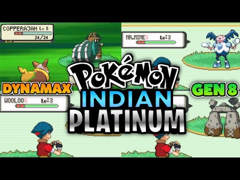 Pokemon Indian Platinum (GBA)