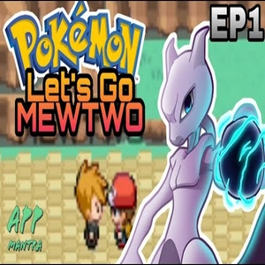 Pokemon Let's Go Mewtwo (GBA)