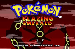 Pokemon Blazing Emerald – GBA