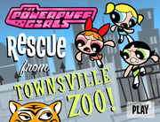 Play The Powerpuff Girls: Rescue from the Townsville Zoo!
