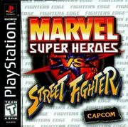 Marvel Super Heroes vs. Street Fighter (USA) – PS1
