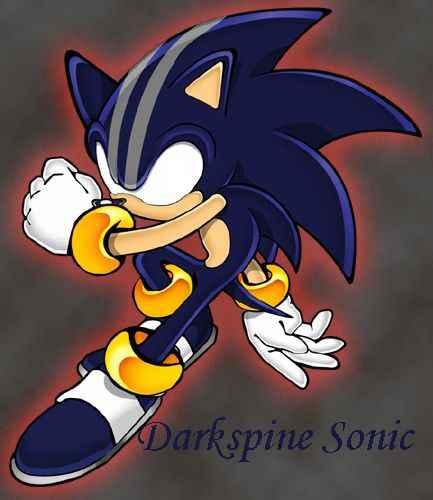 Sonic 2 Darkspine Sonic