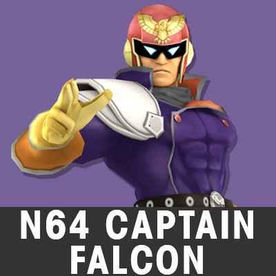 Play Super Melee Adventure 64 – C.FALCON