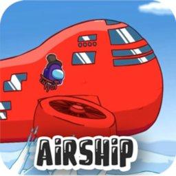 Play Among Us: Airship Map Online