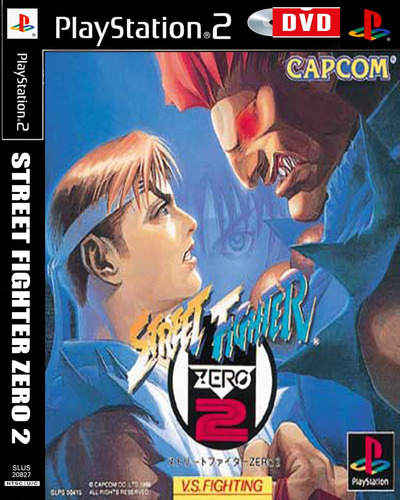Street Fighter Zero 2 – Playstation 2