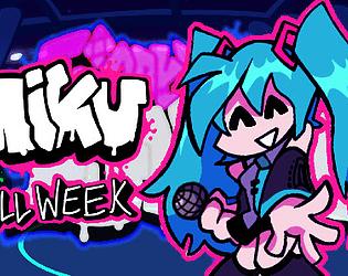 Friday Night Funkin' + Hatsune Miku full week (KADE ENGINE)