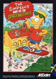 Bart vs. the Space Mutants (MS-DOS)