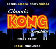 Classic Kong Complete (SNES)