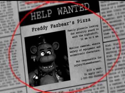 Cinco noites no Freddy 1