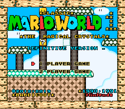 Classic Mario World: The Magical Crystals