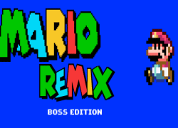 MARIO REMIX BOSS EDITION HACKED