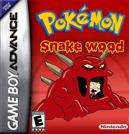 Pokemon Snakewood – GBA