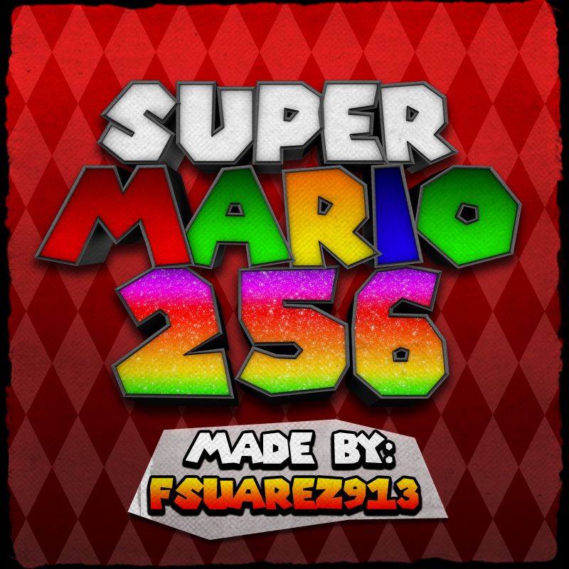 Super Mario 256 v0.1.4 – NDS