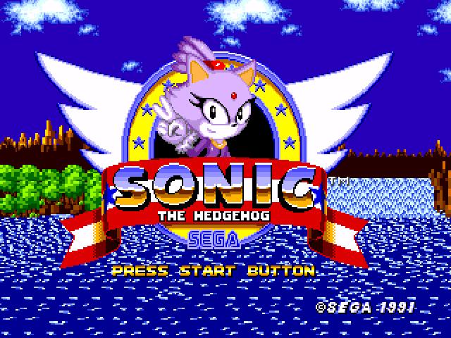 Blaze The Cat in Sonic 1