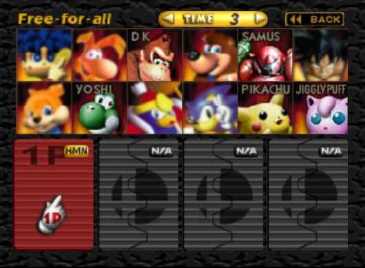 Play Smash 64 (Skin Modpack)