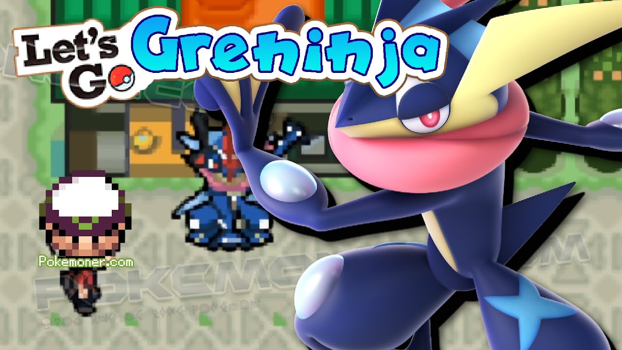 Pokemon Let's Go Greninja