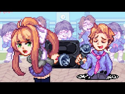 Monika and Senpai Sing One Last Song Together