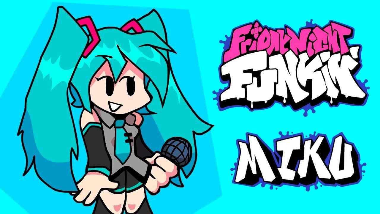 Play Friday Night Funkin Mod – Miku Full Week (HARD)
