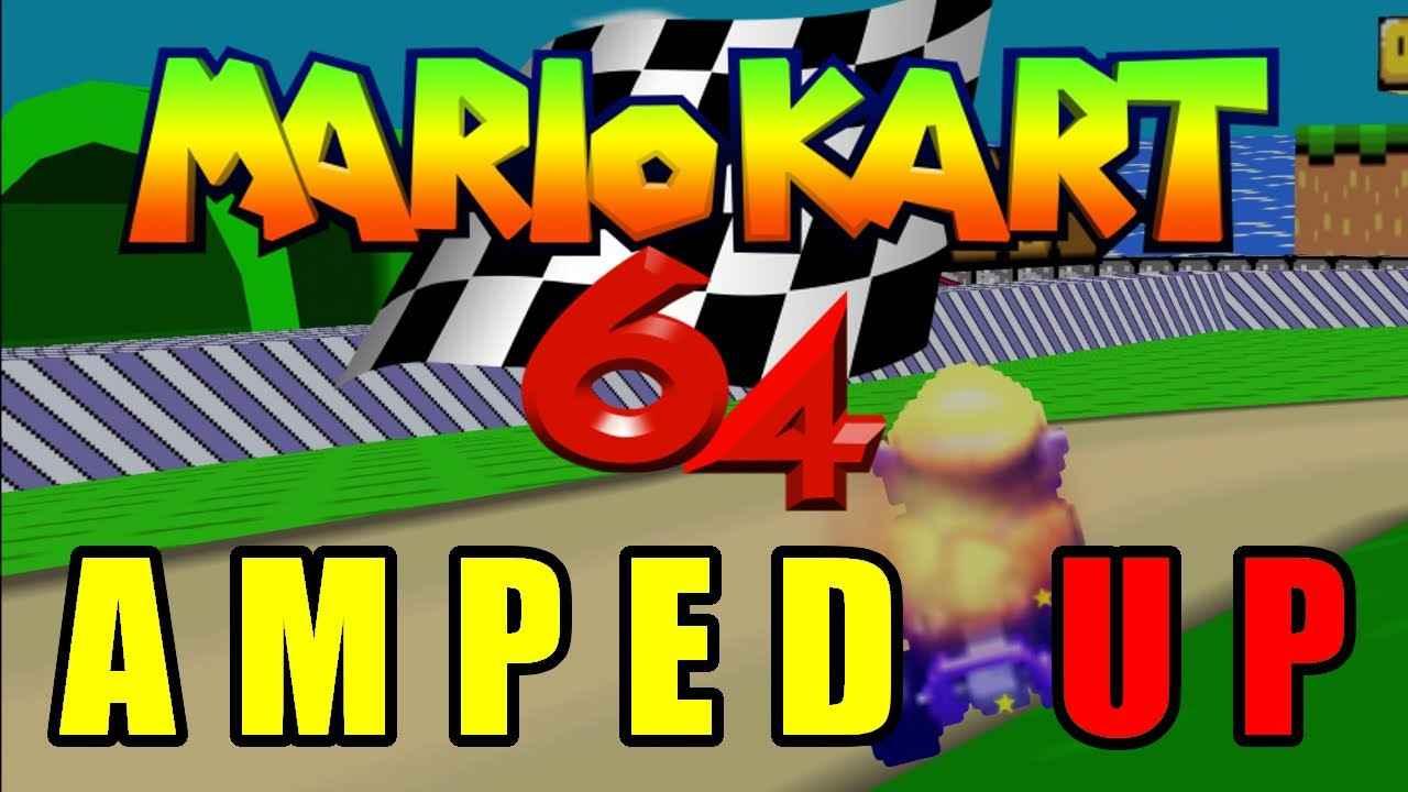 Play Mario Kart 64 – Amped Up