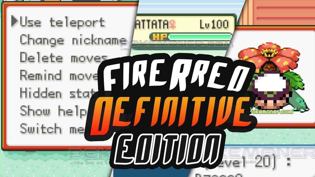 Pokemon Fire Red Definitive Edition