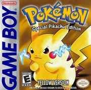 Pokemon Yellow Version – GB