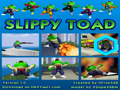 Play Slippy Toad for Smash Remix 1.0