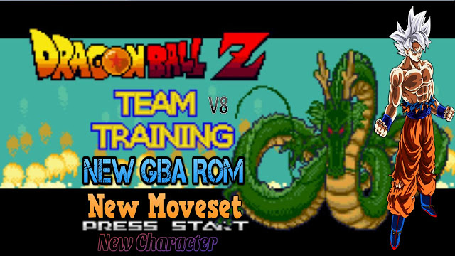 Play Dragon Ball Z Team Training V8 New Completed GBA