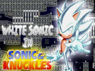 White Sonic in Sonic & Knuckles