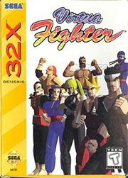 Play Virtua Fighter (Sega 32X)