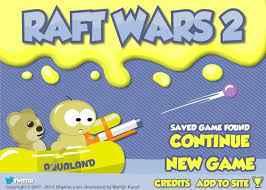 Play RAFT WARS 2 HACKED