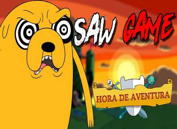 Play Hora de Aventura Saw Game