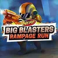 Play NERF BIG BLASTER RAMPAGE RUN