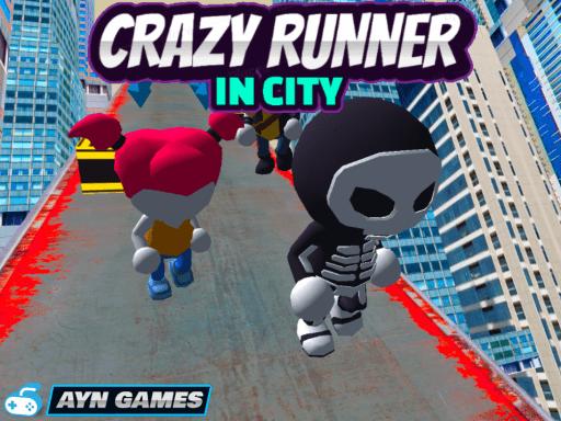 Play Crazy Runner in City
