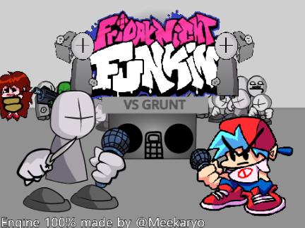 Play Friday Night Funkin- Vs Grunt Phase 1