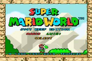 Play Super Mario World: Just Keef Edition New