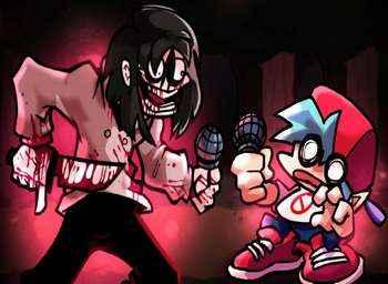 Play O TERRÍVEL E INCRÍVEL MOD DO JEFF THE KILLER! Friday Night Funkin