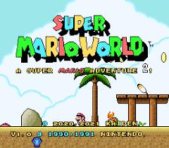 Play Super Mario World: A Super Mario Adventure 2