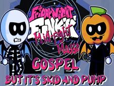 Play FNF: Gospel But It's Skid vs Pump Cover