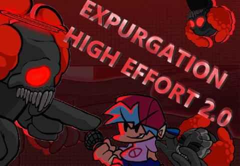 Play Friday Night Funkin Expurgation High Effort 2.0 Mod