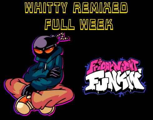 Play Friday Night Funkin vs Whitty Remixed (Full Week) Mod