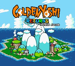 Play Yoshi's Island – Golden Yoshi Returns
