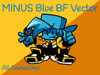 Play FNF Minus – Blue BF Vector Test