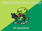 Play FNF Minus – Dino Pico Vector Test