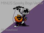 Play FNF Minus – Spooky Boys Test