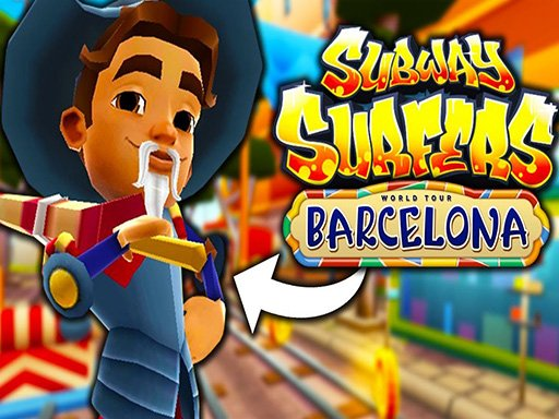 Play Subway Surfers Barcelona Online