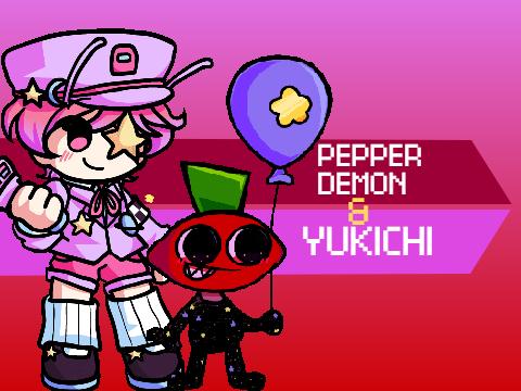 Play FNF: Pepper Demon & Yukichi Test