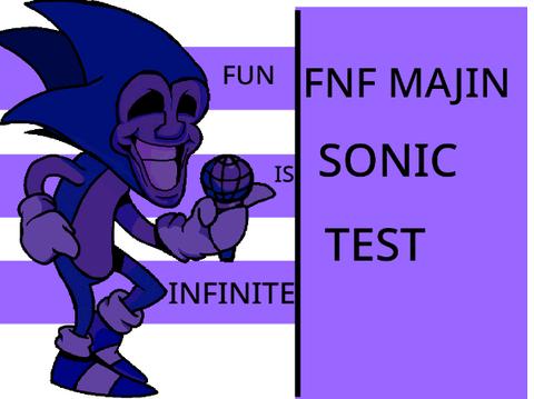 Play FNF Majin Sonic Test