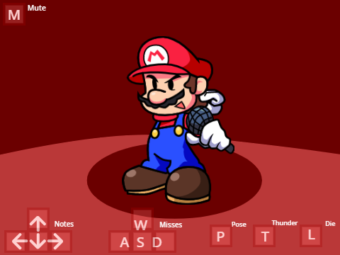 Play Mario Complete Trace – Friday Night Funkin Test