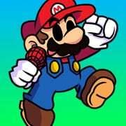 Play FNF vs Mario v2