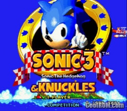 Play Sonic 3 & Knuckles Rom Online